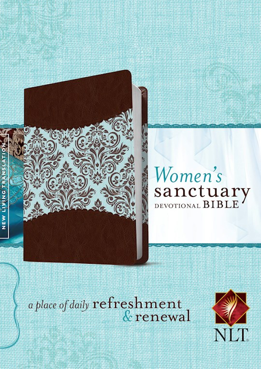 NLT Women's Sanctuary Devotional Bible-Espresso | SHOPtheWORD