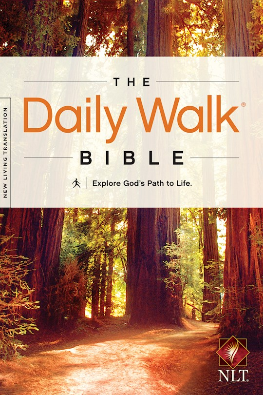 NLT Daily Walk Bible-Softcover | SHOPtheWORD