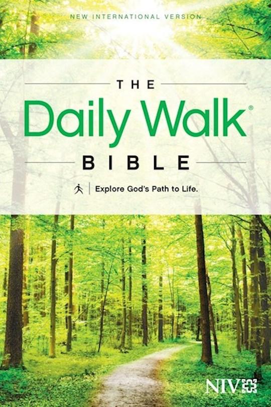 NIV Daily Walk Bible-Softcover | SHOPtheWORD