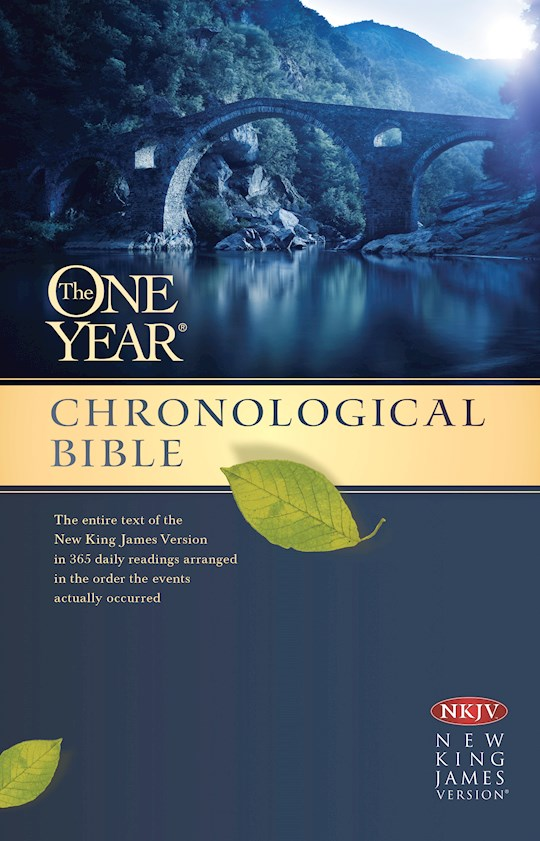 NKJV One Year Chronological Bible-Softcover | SHOPtheWORD