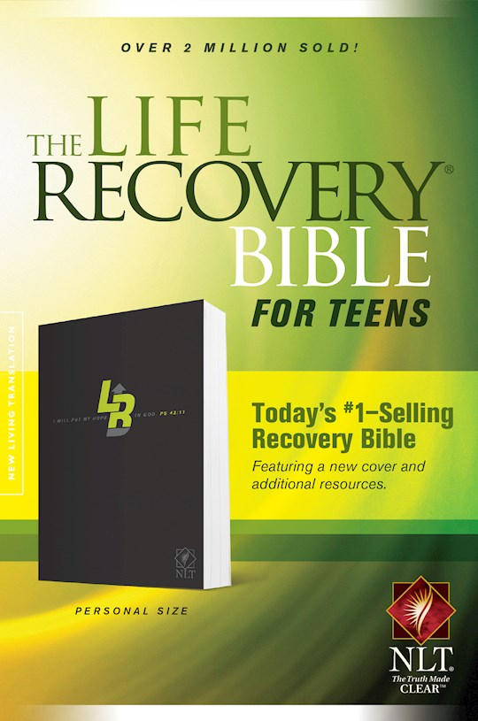 NLT Life Recovery Bible For Teens/Personal Size-Softcover | SHOPtheWORD
