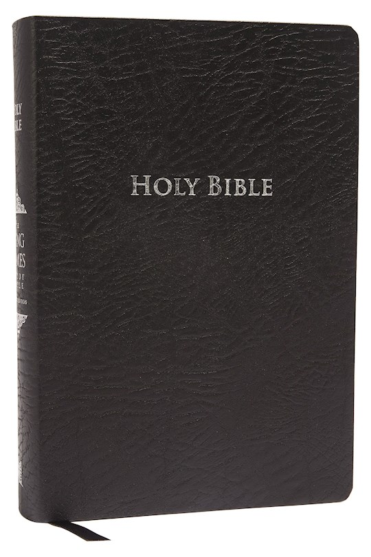 KJV King James Study Bible (Second Edition)-Black Bonded Leather Indexed | SHOPtheWORD