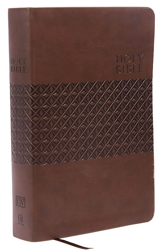 KJV King James Study Bible (Second Edition)-Earth Brown LeatherSoft Indexed | SHOPtheWORD