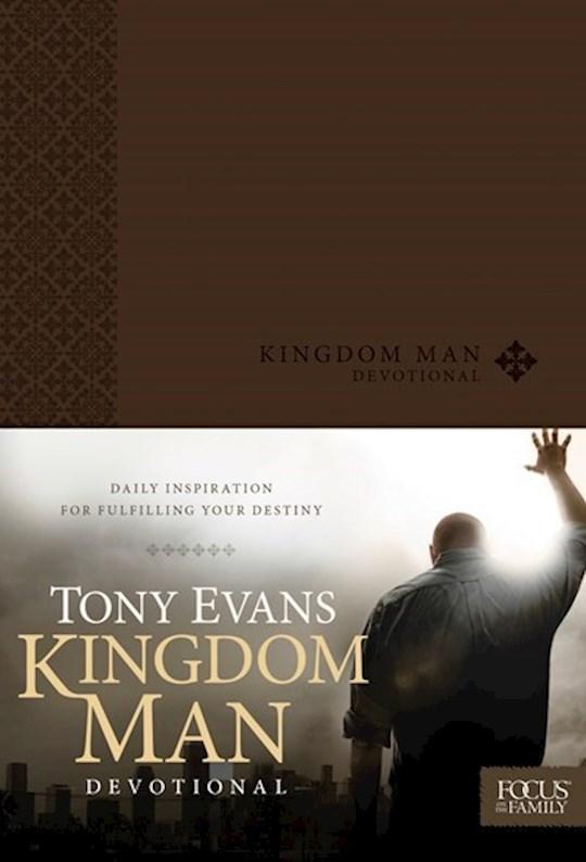 Kingdom Man Devotional by Tony Evans   SHOPtheWORD