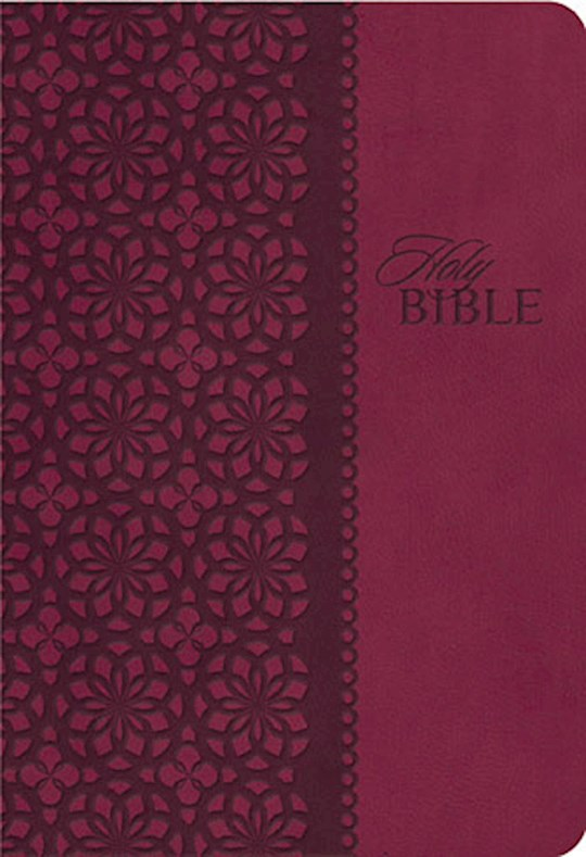 KJV King James Study Bible (Second Edition)-Cranberry LeatherSoft Indexed | SHOPtheWORD
