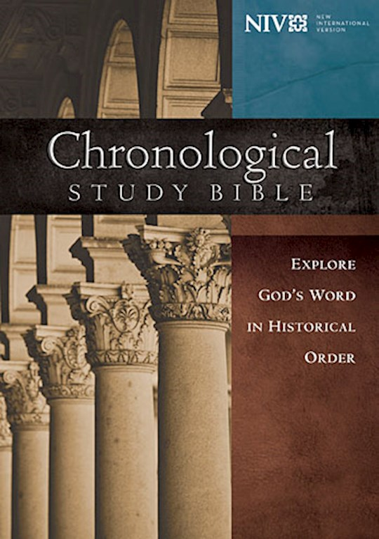 NIV Chronological Study Bible-Hardcover   SHOPtheWORD
