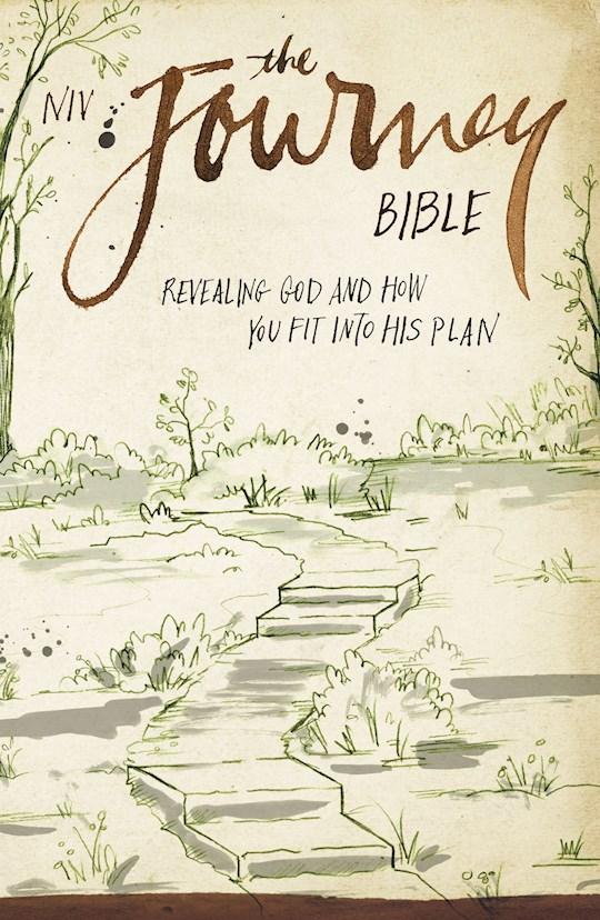 NIV The Journey Bible-Softcover | SHOPtheWORD