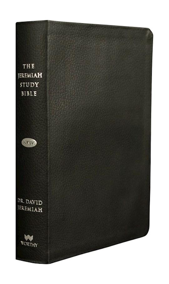 NKJV Jeremiah Study Bible-Black Genuine Leather | SHOPtheWORD