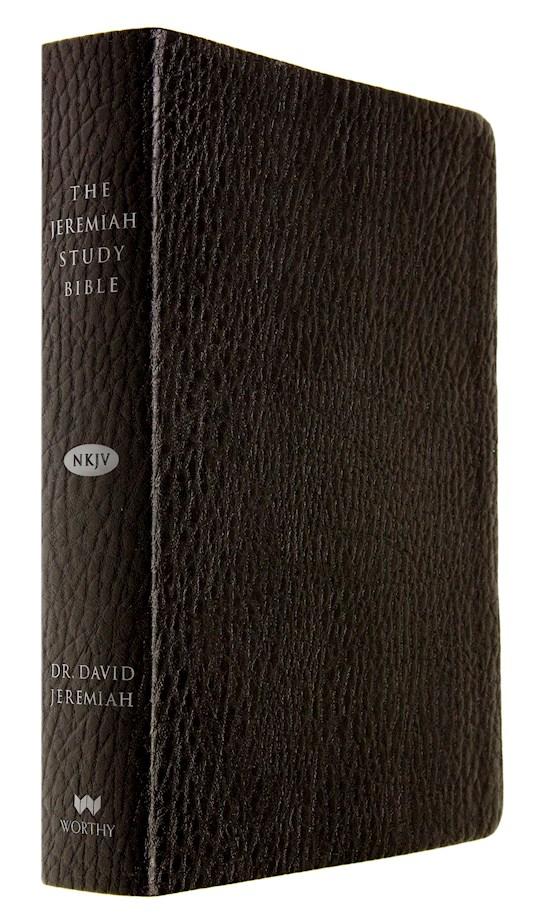 NKJV Jeremiah Study Bible-Black Leatherluxe Indexed  | SHOPtheWORD
