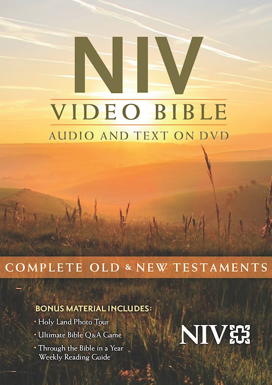 NIV Video Bible: Audio And Text On DVD (Dramatized) (Value Price) | SHOPtheWORD
