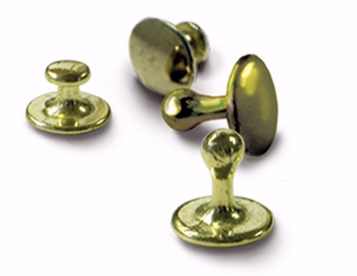 Clerical-Clergy Collar Studs-Gold (Pack of 4) | SHOPtheWORD
