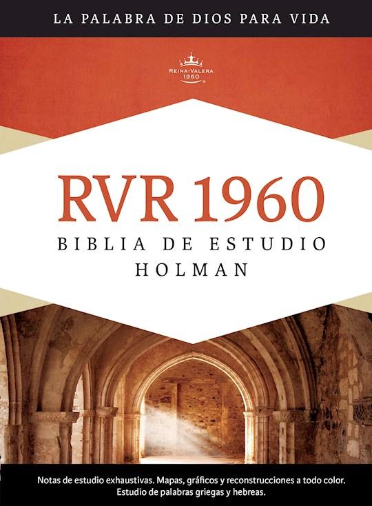 Span-RVR 1960 Holman Study Bible (Full Color)-Hardcover Indexed | SHOPtheWORD