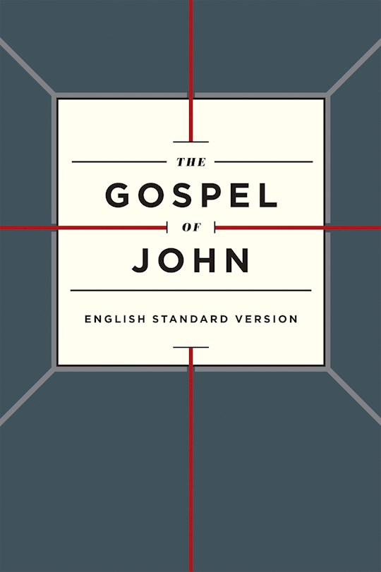 ESV Gospel Of John-Cross Design Softcover | SHOPtheWORD