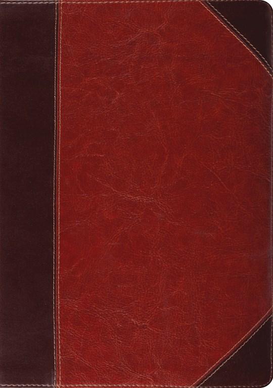 ESV Study Bible-Brown Cordovan Portfolio Design TruTone Indexed   SHOPtheWORD