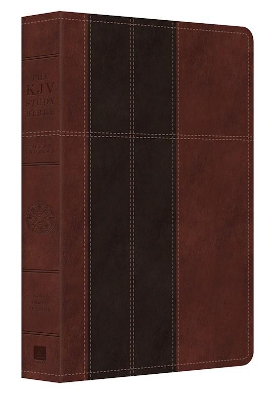KJV Study Bible-Chocolate/Brown DiCarta Indexed | SHOPtheWORD