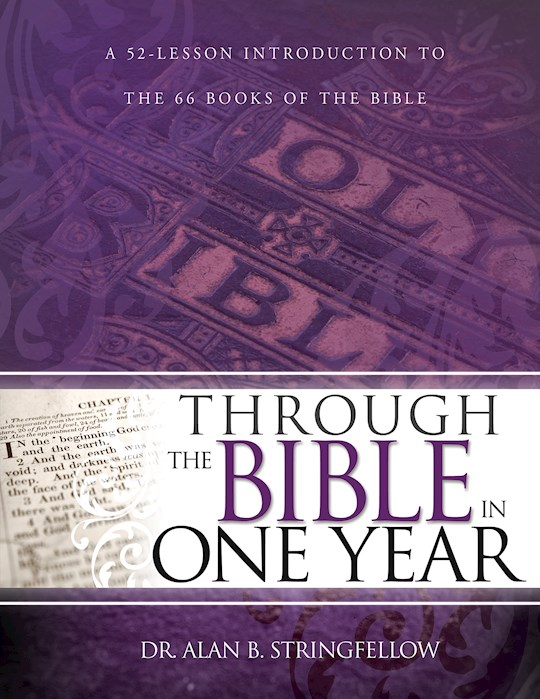 Through The Bible In One Year by Al Stringfellow | SHOPtheWORD
