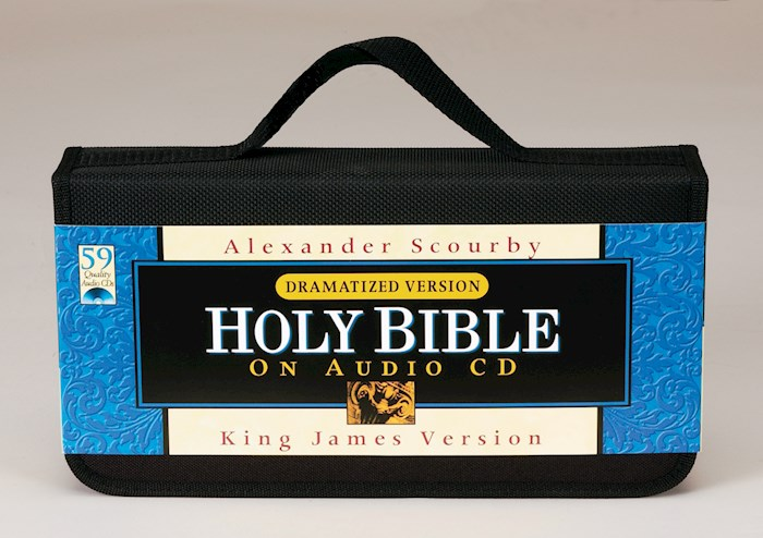 Audio CD-KJV Complete Bible (Dramatized) (59 CD) | SHOPtheWORD