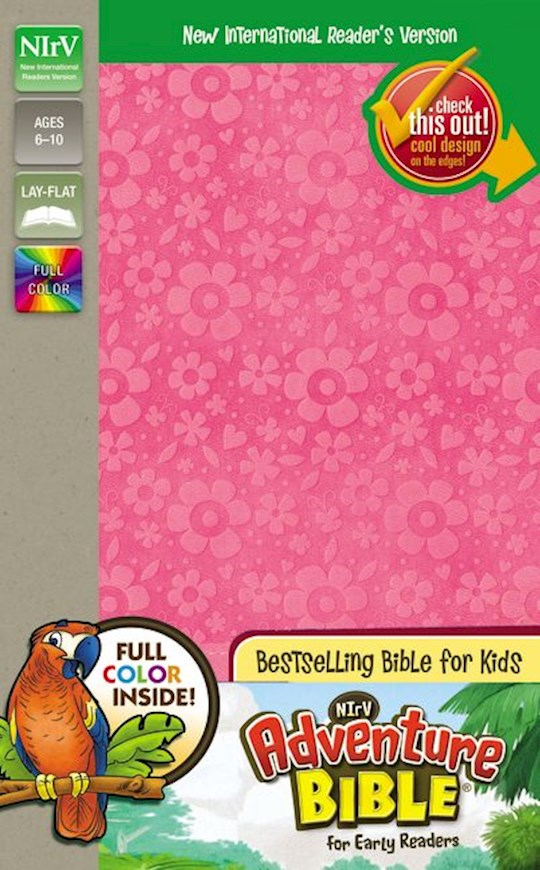 NIrV Adventure Bible For Early Readers (Full Color)-Hot Pink DuoTone   SHOPtheWORD