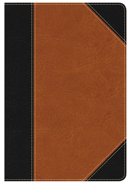 KJV Study Bible/Personal Size (Full-Color)-Black/Tan LeatherTouch | SHOPtheWORD
