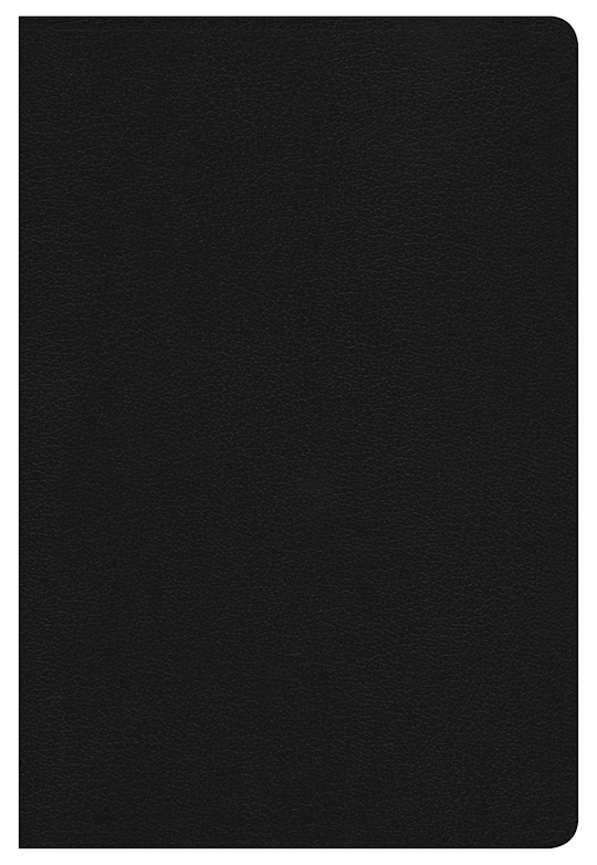 Span-RVR 1960 Hand Size Giant Print Reference Bible-Black Hardcover Indexed (Repack) | SHOPtheWORD