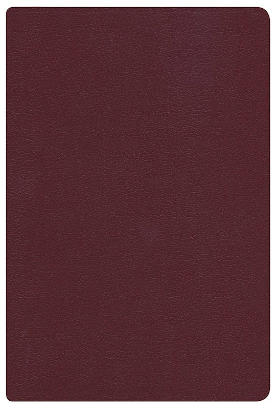 Span-RVR 1960 Hand Size Giant Print Reference Bible-Burgundy Imitation Leather Indexed (Repack) | SHOPtheWORD