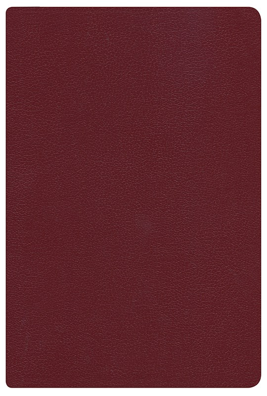 Span-RVR 1960 Hand Size Giant Print Reference Bible-Burgundy Imitation Leather (Repack) | SHOPtheWORD