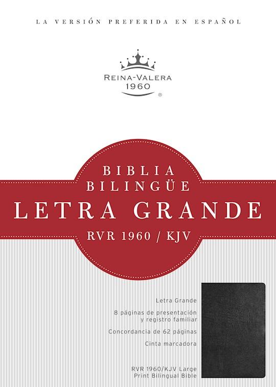 Span-RVR 1960/KJV Large Print Bilingual Bible-Hardcover (Repack) | SHOPtheWORD