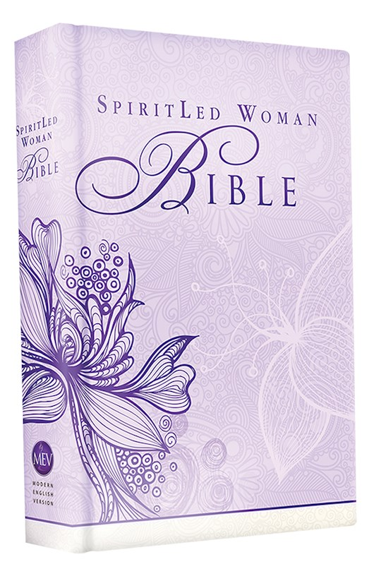 MEV SpiritLed Woman Bible-Lavender Printed Hardcover | SHOPtheWORD