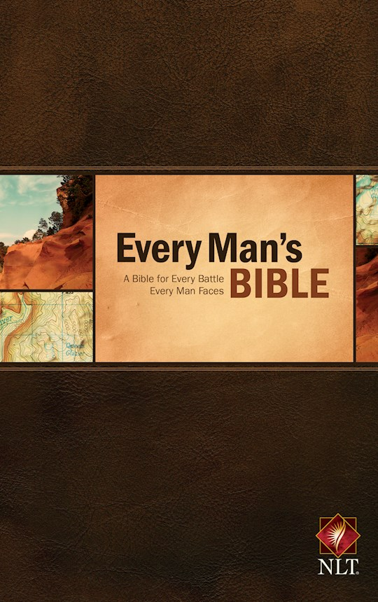 NLT Every Man's Bible-Hardcover | SHOPtheWORD