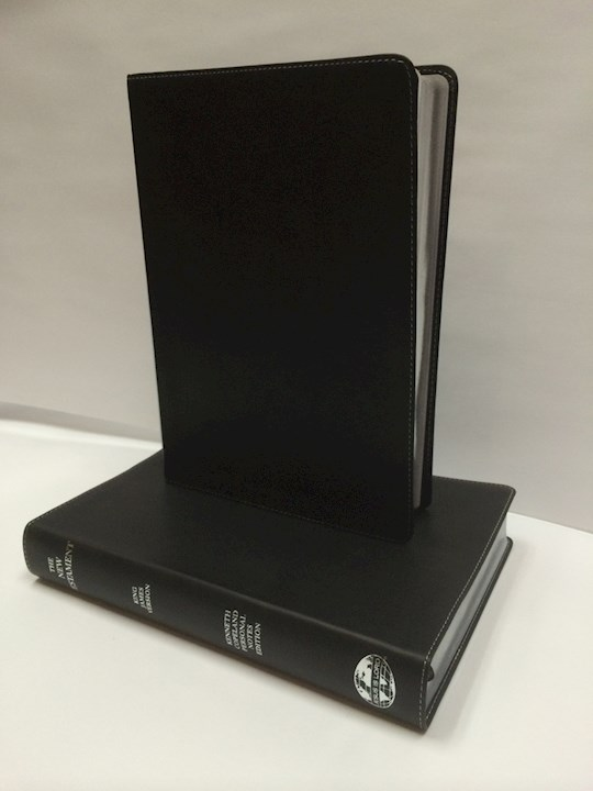 KJV Kenneth Copeland Personal Notes Edition Bible-Black Imitation Leather | SHOPtheWORD