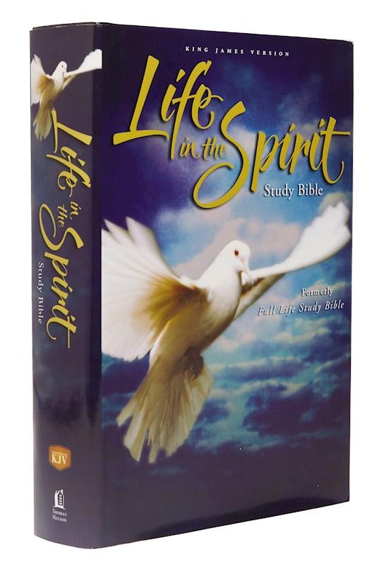 KJV Life In The Spirit Study Bible-Hardcover | SHOPtheWORD