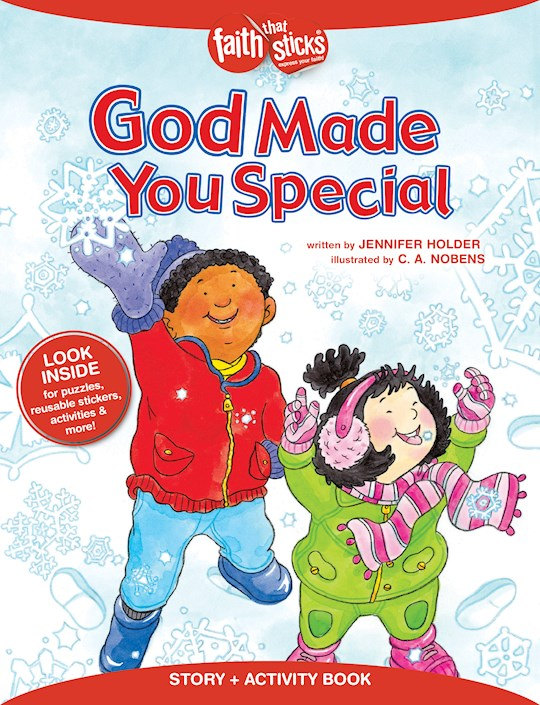 God Made You Special (Faith That Sticks) by Jennifer Holder | SHOPtheWORD