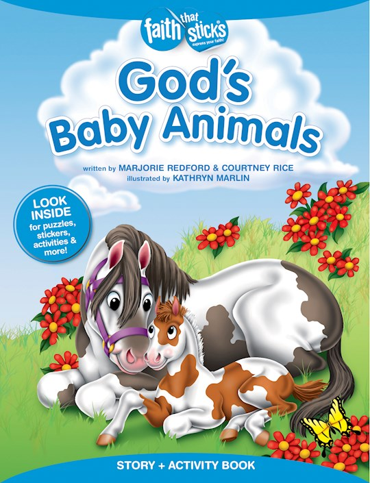 God's Baby Animals (Faith That Sticks) by Marjorie Redford | SHOPtheWORD