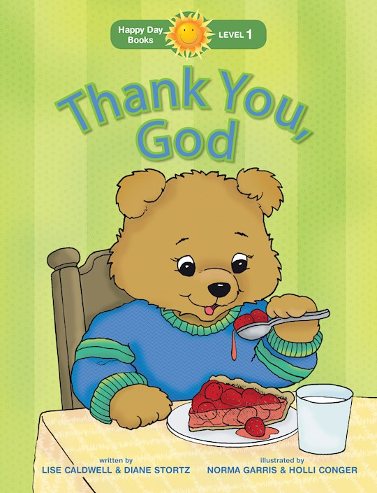 Thank You, God (Happy Day Books) by Diane Stortz | SHOPtheWORD