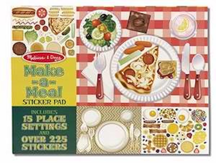 Reuseable Sticker Pad: Make-A-Meal (Ages 3+) | SHOPtheWORD