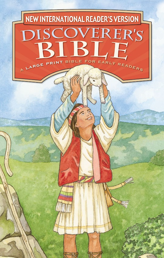 NIrV Discoverers Bible/Large Print (Updated)-Hardcover | SHOPtheWORD