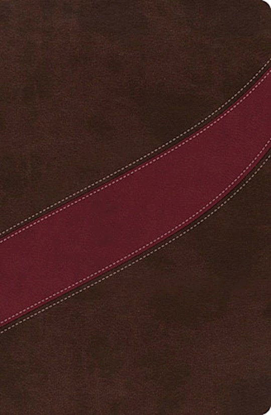 NASB MacArthur Study Bible-Cranberry/Earth Brown LeatherSoft   SHOPtheWORD
