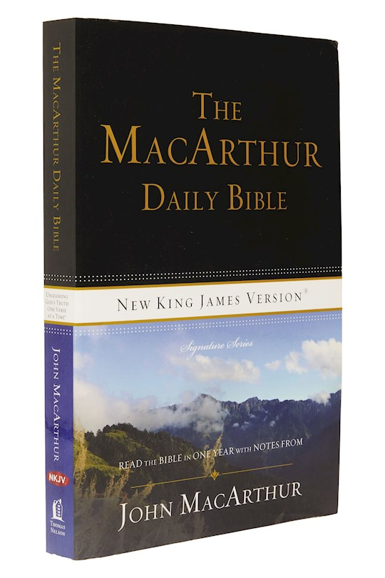 NKJV Macarthur Daily Bible (Revised)-Softcover | SHOPtheWORD