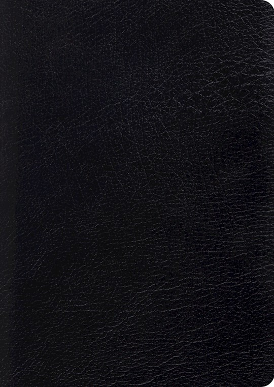 ESV Study Bible/Large Print-Black Genuine Leather | SHOPtheWORD