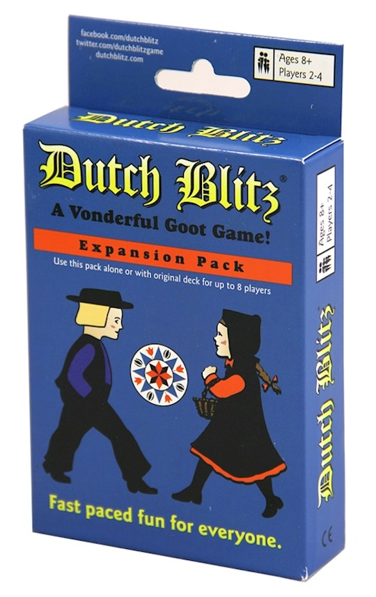 Game-Dutch Blitz-Blue (2-4 Players) (Expansion Pack) | SHOPtheWORD