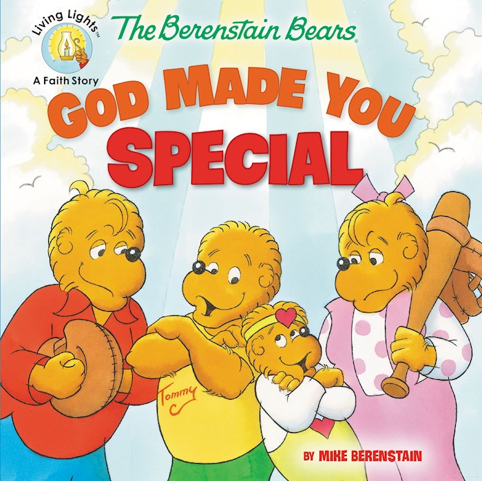 The Berenstain Bears God Made You Special (Living Lights) by Bears Berenstain | SHOPtheWORD