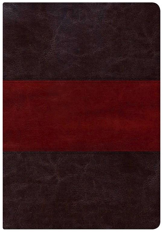 NKJV Holman Study Bible/Large Print (Full Color)-Saddle Brown Indexed   SHOPtheWORD