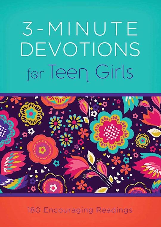 3-Minute Devotions For Teen Girls-Mass Market by April Frazier | SHOPtheWORD