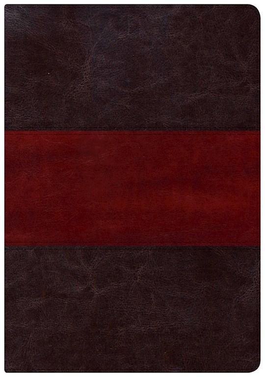 NKJV Holman Study Bible/Large Print (Full Color)-Saddle Brown | SHOPtheWORD