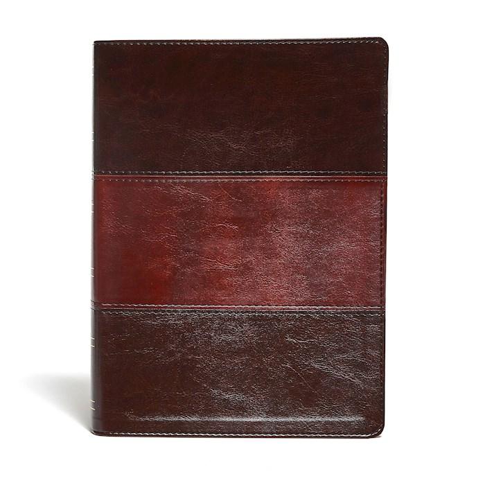 KJV Study Bible/Large Print (Full-Color)-Saddle Brown Indexed | SHOPtheWORD