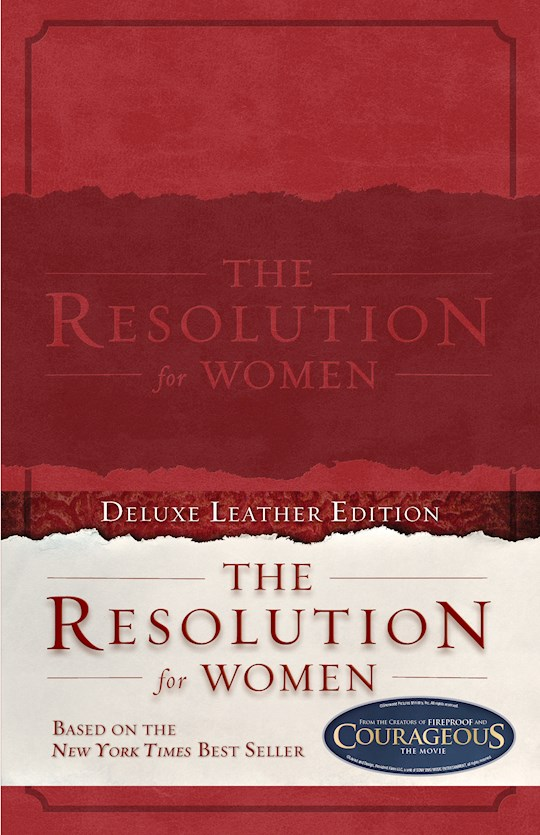 Resolution For Women-Red LeatherTouch by Priscilla Shirer | SHOPtheWORD