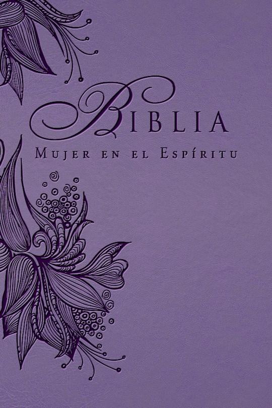 Span-RVR 1960 SpiritLed Woman Bible-Lavender LeatherLike (Biblia Mujer En El Espiritu) | SHOPtheWORD