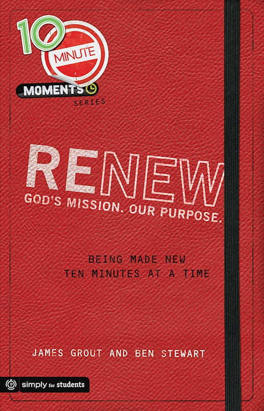 10 Minute Moments: Renew by Grout/Stewart | SHOPtheWORD