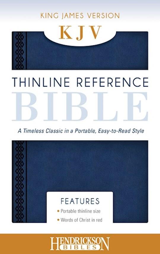 KJV Thinline Reference Bible-Midnight Blue Flexisoft   SHOPtheWORD