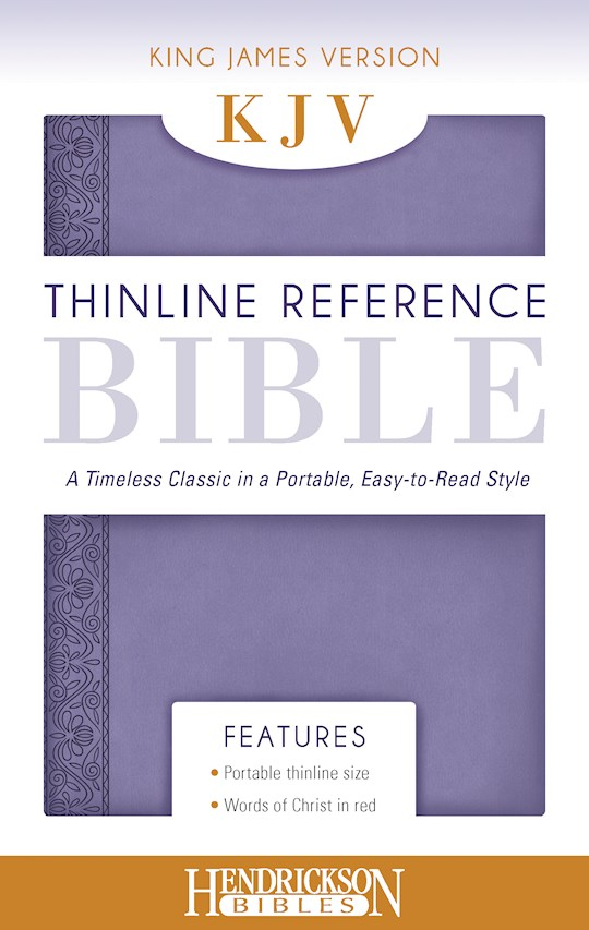 KJV Thinline Reference Bible-Lilac Flexisoft | SHOPtheWORD